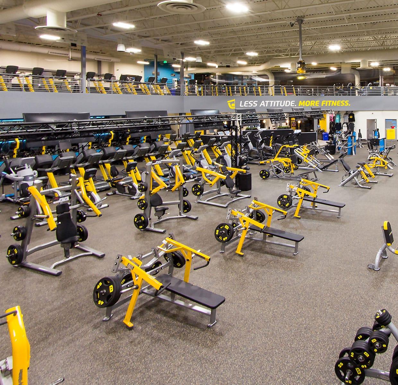 Chuze fitness: health club & fitness center affordable gym